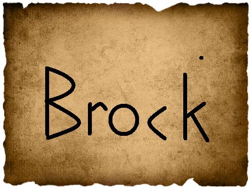 Jill's Vote- Brock