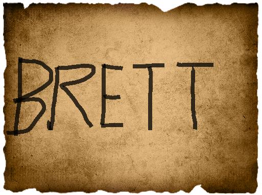 Andrew's Vote- Brett