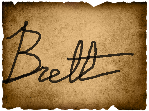 Jamie's Vote- Brett