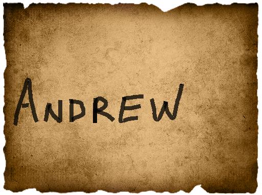 Marco's Vote- Andrew