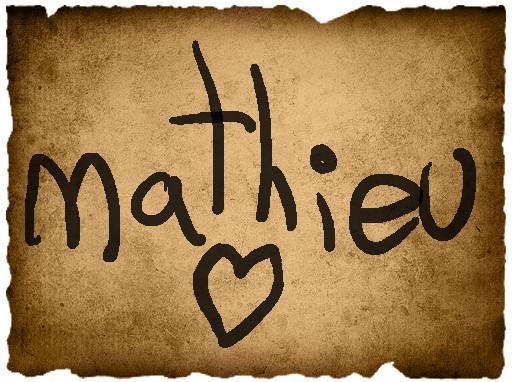 Jordyne's Vote- Mathieu