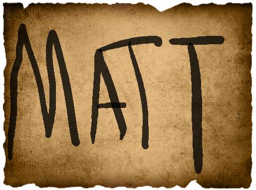 Marco's Vote- Mathieu