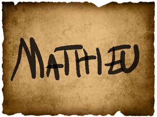 Marina's Vote- Mathieu