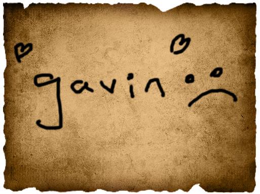 Jordyne's 1st Vote- Gavin