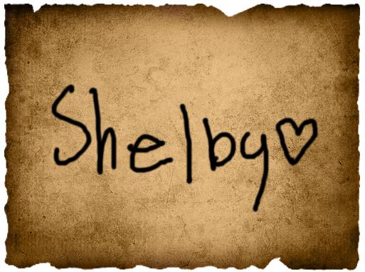 Jordyne's Vote- Shelby