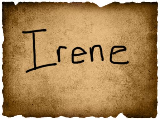 Gavin's Vote- Irene
