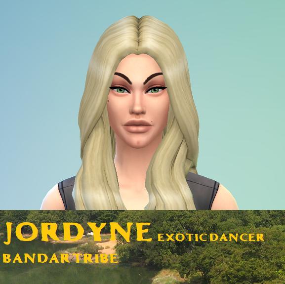 Jordyne- Bandar Tribe
