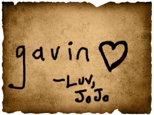 Jordyne's Vote- Gavin