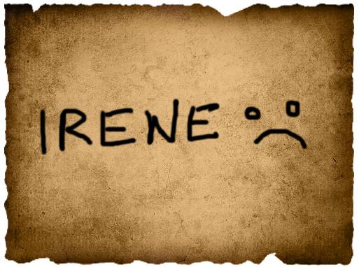 Jordyne's Vote- Irene