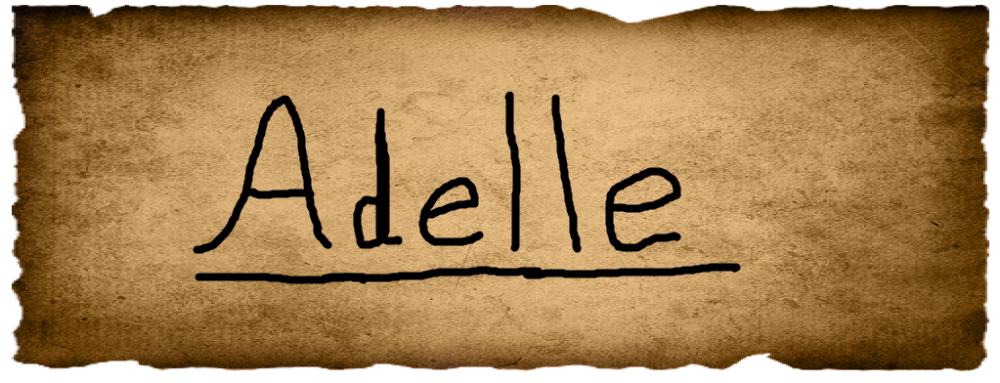 Charlotte's Vote- Adele