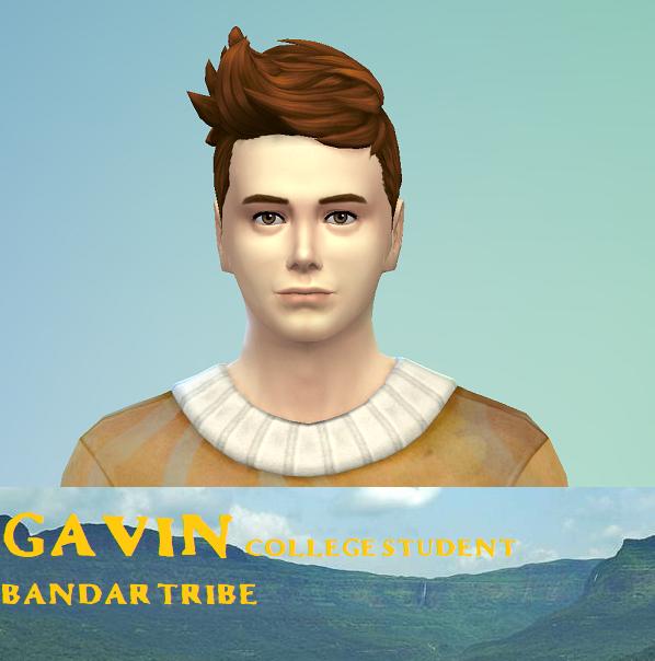 Gavin- Bandar Tribe