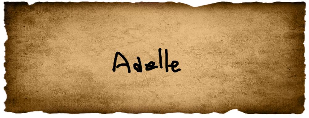 Olivia's Vote- Adele