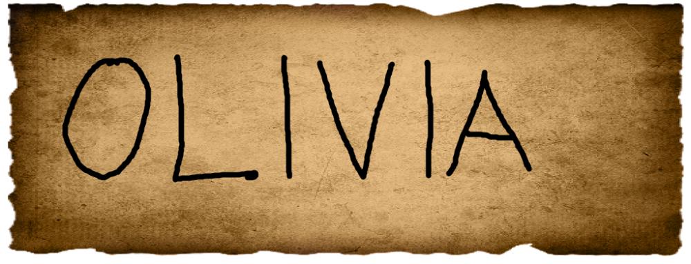 Vince's Vote- Olivia