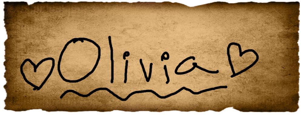 Hannah's Vote- Olivia