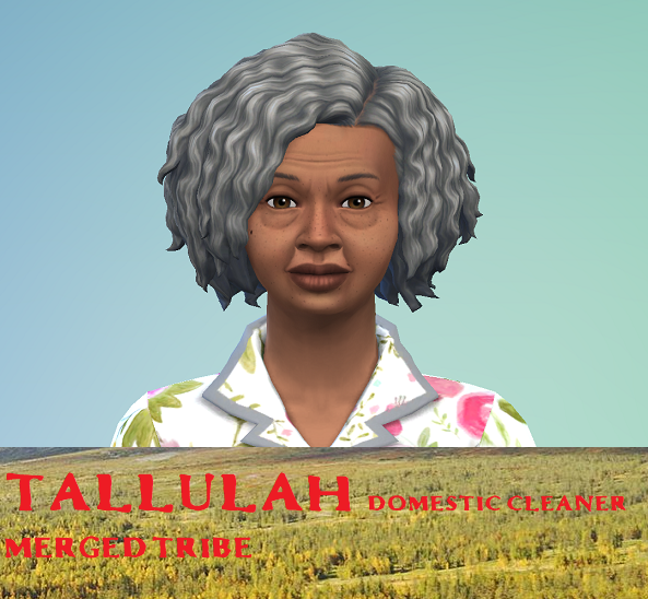Tallulah- Merged Tribe