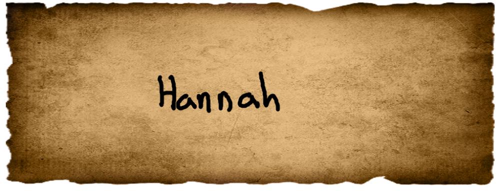 Olivia's Vote- Hannah