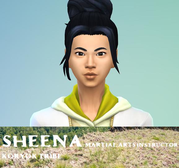 Sheena- Koryok Tribe
